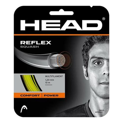 Head Reflex 120/18 Squash String Set