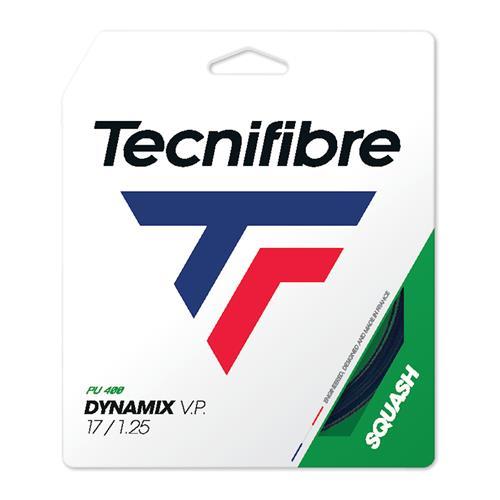 Tecnifibre DYNAMIX V.P. 125/17 Squash String Set (Black)