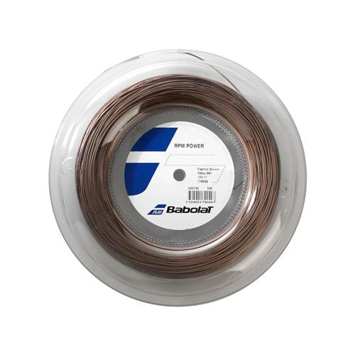 Babolat RPM Power 125/17 String 200m Reel (Electric Brown)