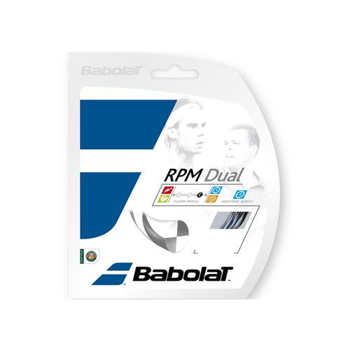 Babolat RPM Dual 125/17 String Set (Black/Silver)