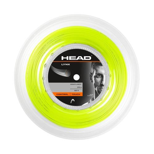 Head Lynx 125/17 200m Reel (Yellow)