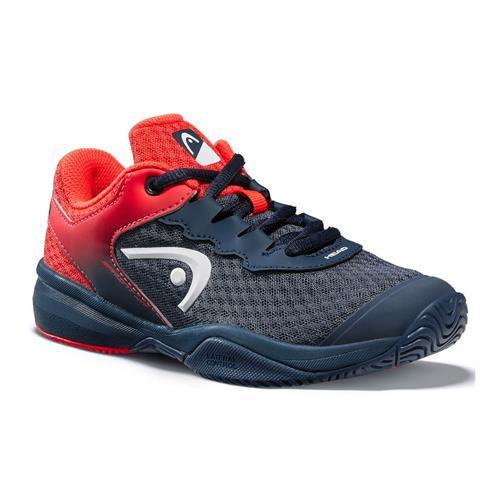 Head Sprint 3.0 Junior Shoe (Navy/Red)