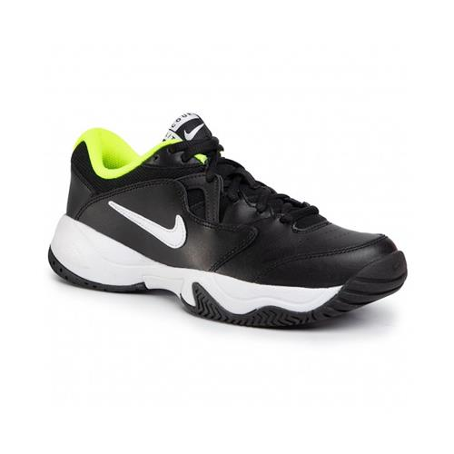 Nike JR Court Lite 2 Kids Shoe (Black/White)