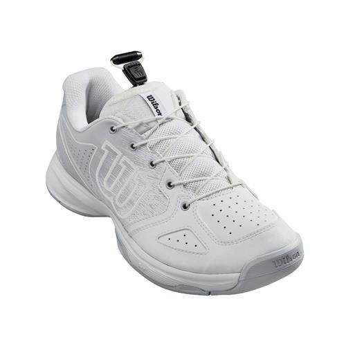 Wilson Kaos Junior Tennis Shoes (White Pearl)