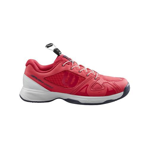 Wilson Rush Pro JR QL Junior Shoe (Pink/White)