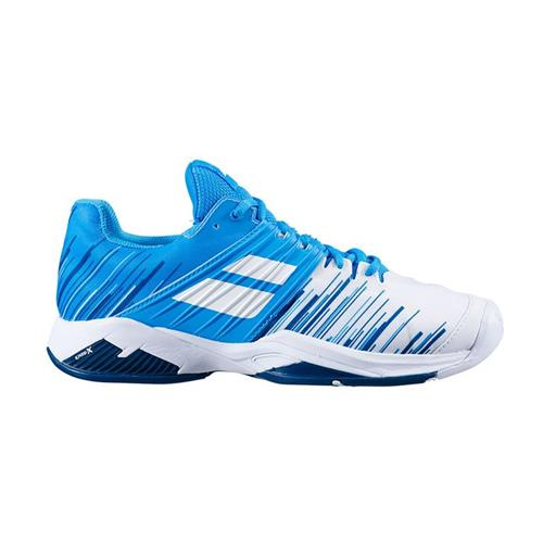 Babolat Propulse Fury All Court Mens Shoe (White/Blue)