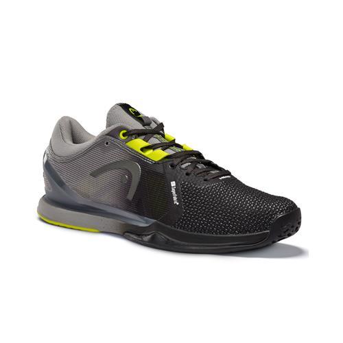 Head Sprint Pro 3.0 SF Mens Tennis Shoes(Black/Yellow)