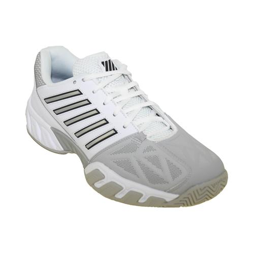 K-Swiss Bigshot Light 3 Mens Shoe (White/Silver)