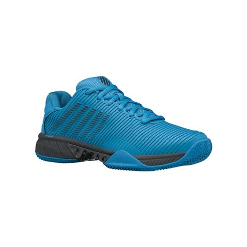 K-Swiss Hypercourt Express 2 HB Mens Tennis Shoes (Swedish Blue/Dark Shadow)