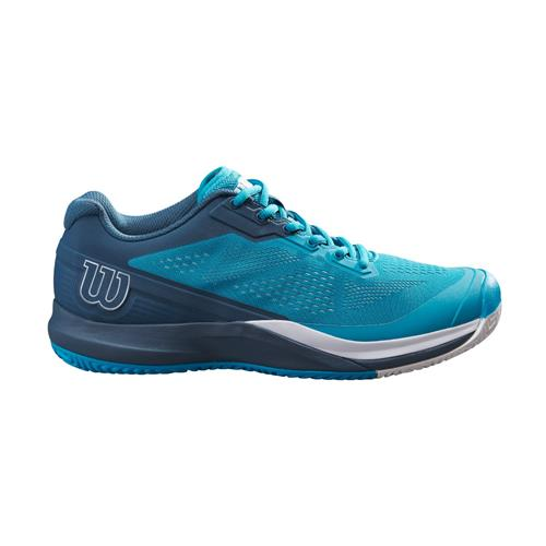 Wilson Rush Pro 3.5 Mens Tennis Shoes (Barr Reef/Majolica Blue/White)