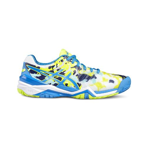 Asics Gel-Resolution 7 L.E. Melbourne Womens Shoe (White/Blue)