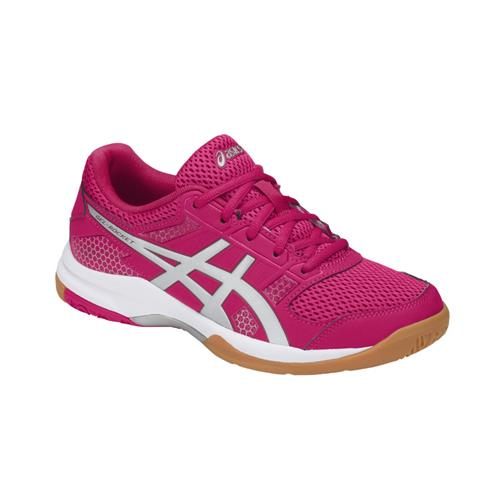 Asics Gel-Rocket 8 Womens Shoe (Rose/Silver)
