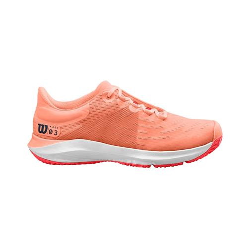 Wilson Kaos 3.0 Womens Shoe (Tropical Peach/White)