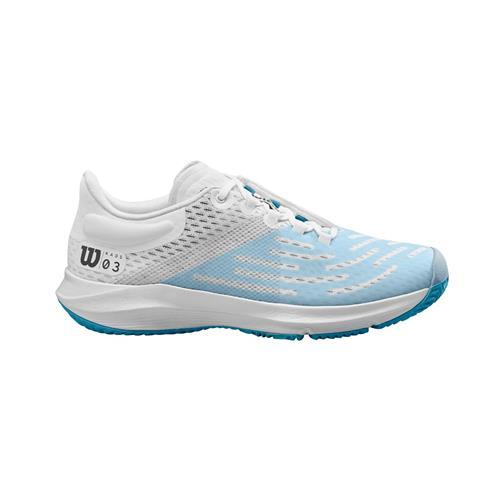 Wilson Kaos 3.0 Womens Shoe (White/Niagara)