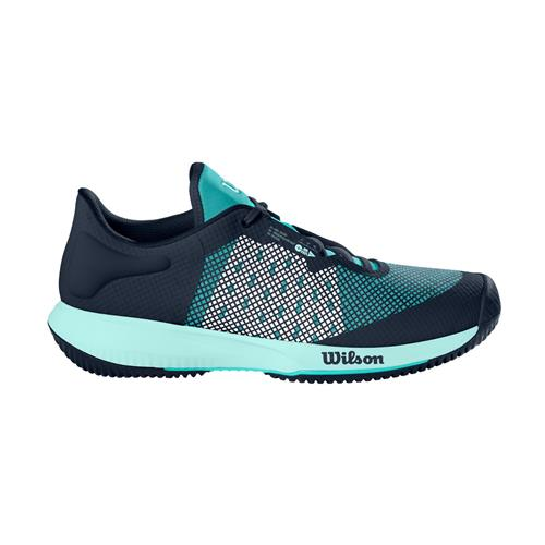 Wilson Kaos Swift Womens Tennis Shoes (Outer Space/A Blue/S Sea)