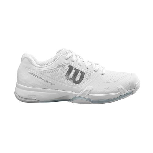 Wilson Rush Pro 2.5 2019 Womens Shoe (White/Blue)