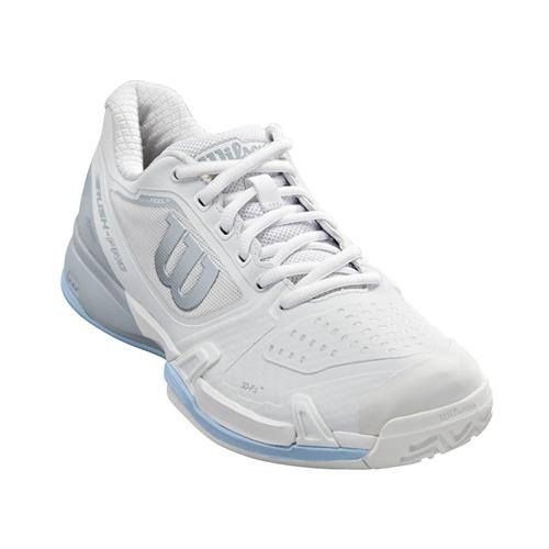 Wilson Rush Pro 2.5 2019 Womens Shoe (White/Pearl/Blue)