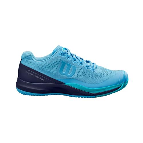 Wilson Rush Pro 3.0 Womens Shoe (Peacoat/Blue)