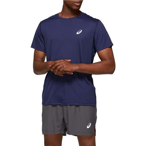 Asics Mens Short Sleeved Top (Peacoat)