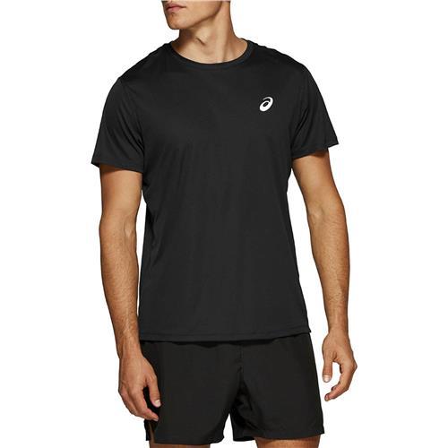 Asics Mens Short Sleeved Top (Performance Black)