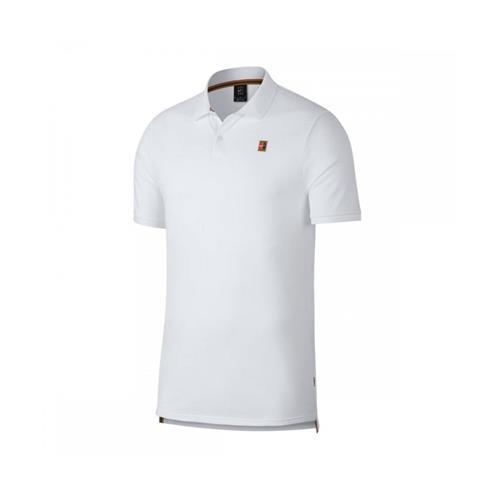 Nike NCKT Mens Heritage Polo (White)