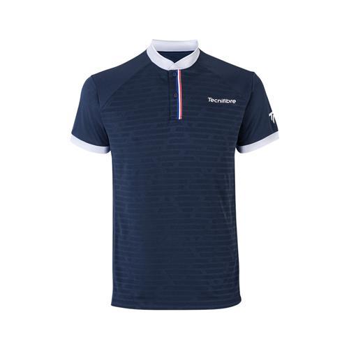 Tecnifibre Mens F3 Polo Shirt (Marine)
