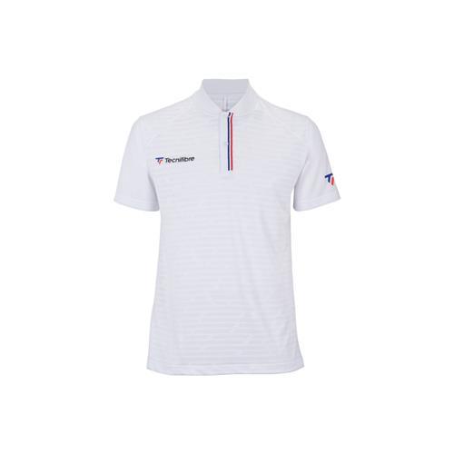 Tecnifibre Mens F3 Polo Shirt (White)