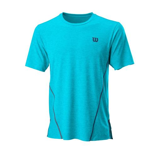 Wilson Mens Kaos Crew Shirt (Scuba Blue)