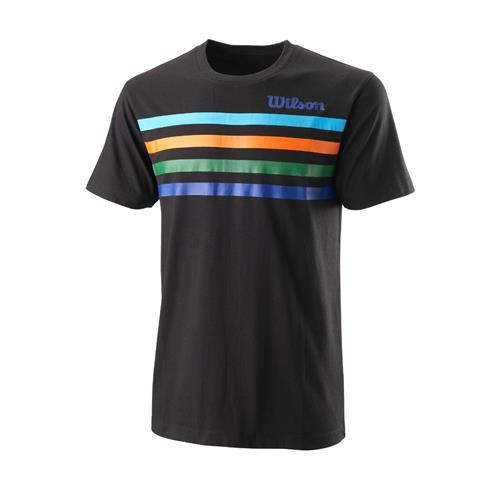 Wilson Mens Slam Tech Tee (Black)
