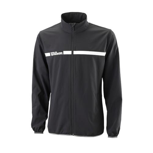 Wilson Mens Team II Woven Jacket (Black)