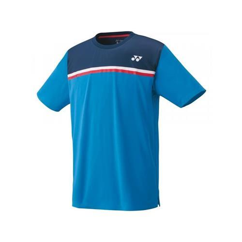 Yonex Mens Crew Neck Shirt (Sea Blue)