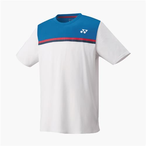 Yonex Mens Crew Neck Shirt (White)