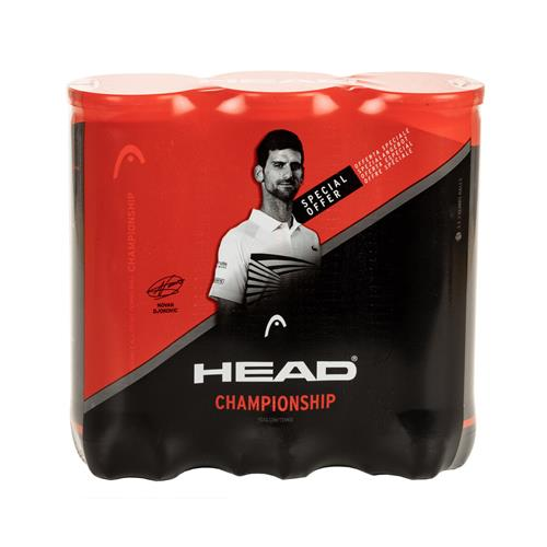 Head Championship Novak Tri Pack 3 Ball Can