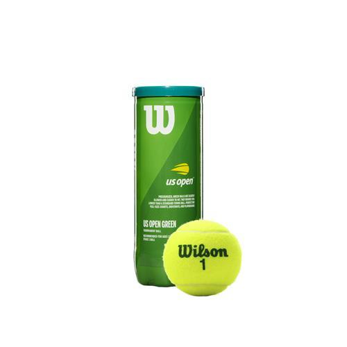 Wilson US Open Green Tournament 3 Ball Can