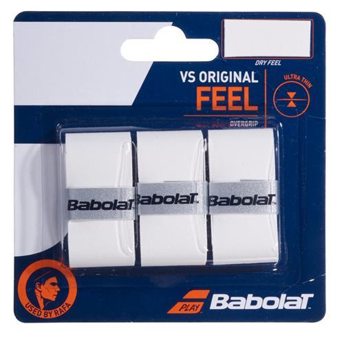 Babolat VS Original Feel Overgrip 3pk (White)