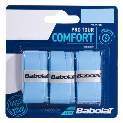 Babolat Pro Tour Comfort Overgrip 3pk (Blue)