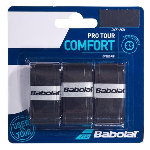 Babolat Pro Tour Comfort Overgrip 3pk (Black)