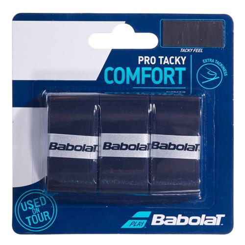 Babolat Pro Tacky Comfort Overgrip (Black)