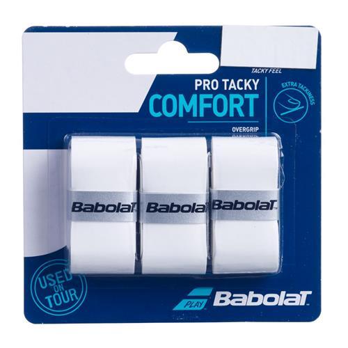 Babolat Pro Tacky Comfort Overgrip (White)