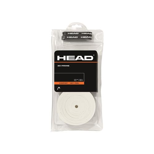 Head Prime Comfort Overgrip 30pk (White)