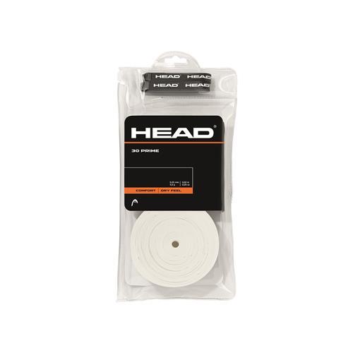 Head Prime Comfort Overgrip 30pk (White)