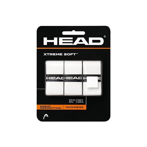 Head Xtreme Soft Overgrip 3pk (White)