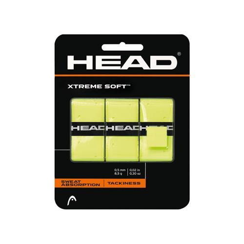 Head Xtreme Soft Overgrip 3pk (Yellow)