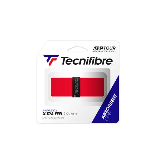 Tecnifibre X-TRA Feel ATP Replacement Grip (Red)
