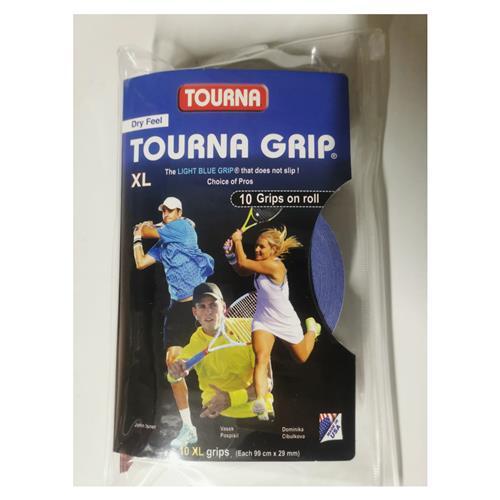 Tourna Grip XL 10pk (Light Blue)