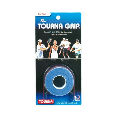 Tourna Grip XL 3pk (Light Blue)