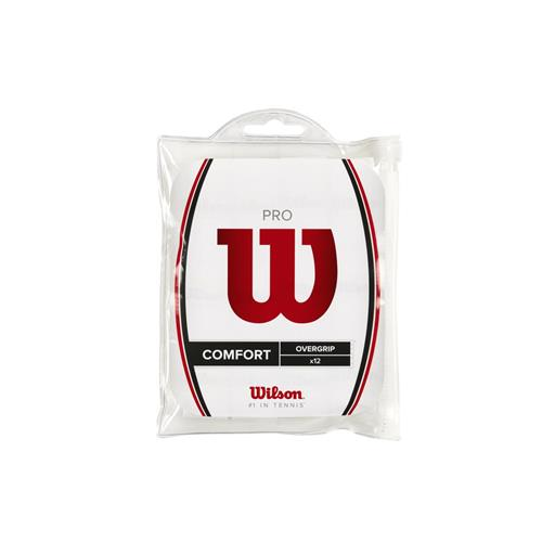 Wilson Pro Comfort Overgrip 12pk (White)