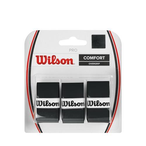 Wilson Pro Comfort Overgrip 3pk (Black)