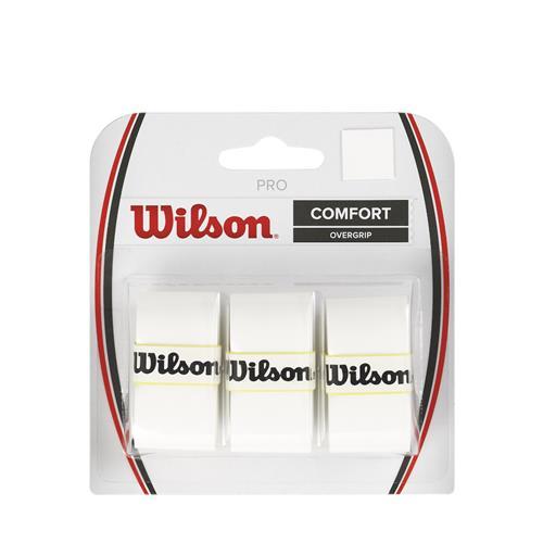 Wilson Pro Comfort Overgrip 3pk (White)