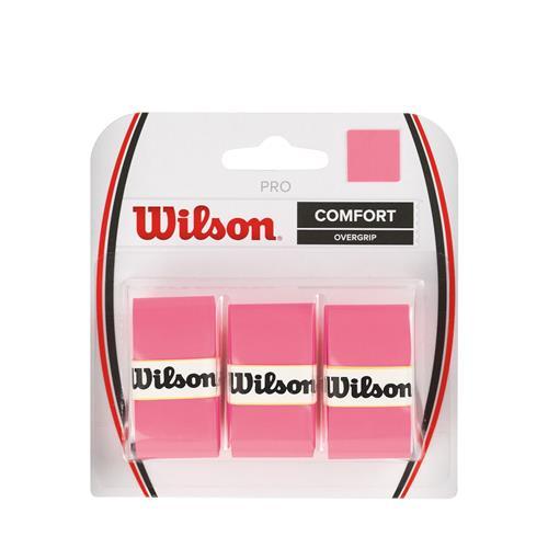 Wilson Pro Comfort Overgrip 3pk (Pink)